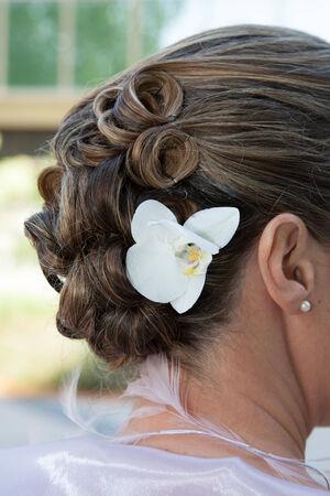 hochzeitsfrisur: Sch�ne Hochzeit Frisur Lizenzfreie Bilder