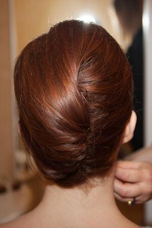 hochzeitsfrisur: Beautiful wedding hairstyle