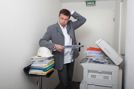 office printer: Office printer...