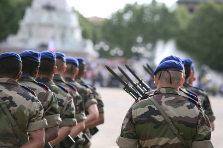 berets: Army Stock Photo