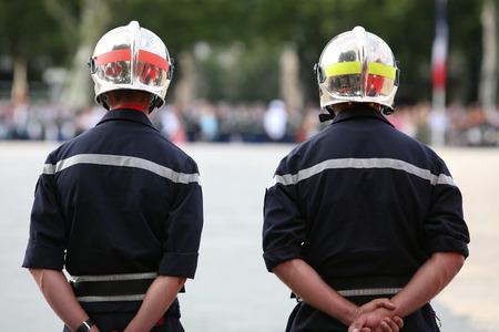 Brandweerman Stockfoto