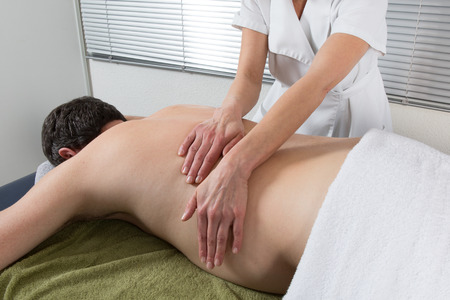 male massage: A traditional thai massage by therapist
