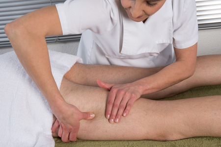 beautiful ankles: Chinese Treatment with massaging on the legs and feet