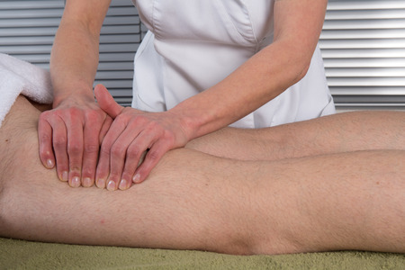 sooth: Chinese Treatment with massaging on the legs and feet
