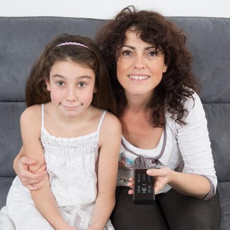 complicit�: Complicit� entre une m�re et sa fille Banque d'images