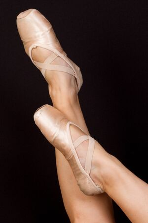 showmanship: Dance shoes Stock Photo