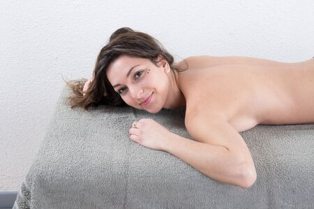 dayspa: Dayspa for a young beauty fresh female Stock Photo