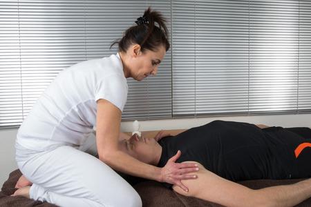 shiatsu: Face massage shiatsu