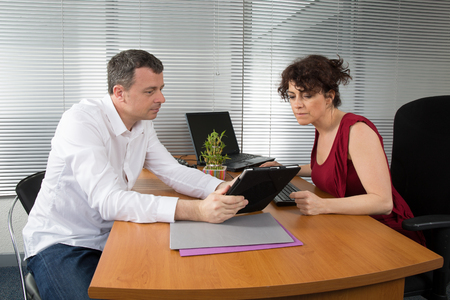 outgoings: Business meeting: professional successful team Stock Photo