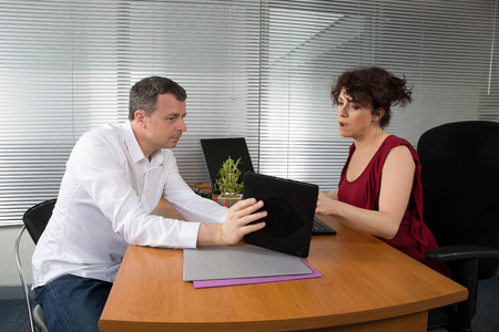 financial controller: Business meeting: professional successful team Stock Photo