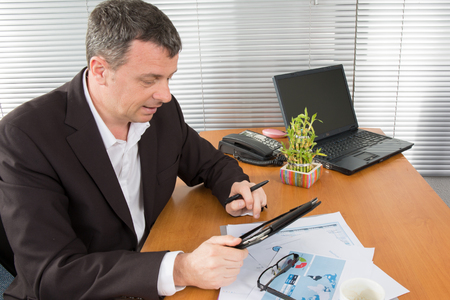 unrecognizable: The Performance management , business concept to succeed Stock Photo