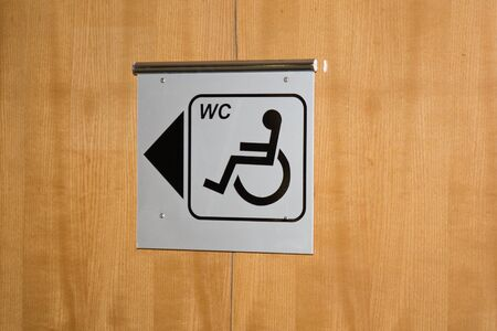 A disabled icon sign vector photo