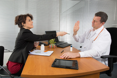 Pharmaceutical Sales Representative Stock Photo, Picture And Royalty ...