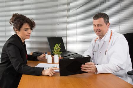 Représentant pharmaceutique Banque d'images - 38269166
