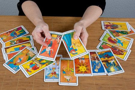 fortuneteller: Hands of an  fortuneteller