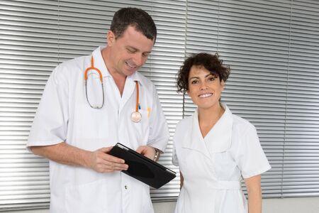 medical doctors: Happy medical team of doctors