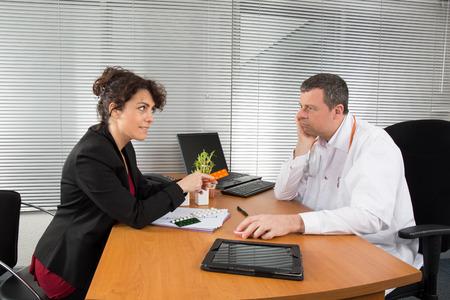 Représentant pharmaceutique Banque d'images - 38703591