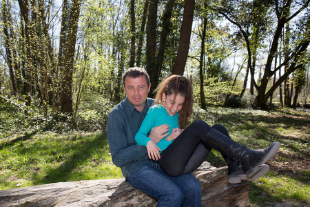 single father: Complicity between a single father and his only daughter
