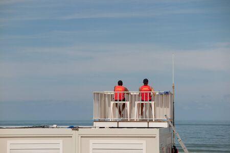 life guard: Life Guard Tower at the beach