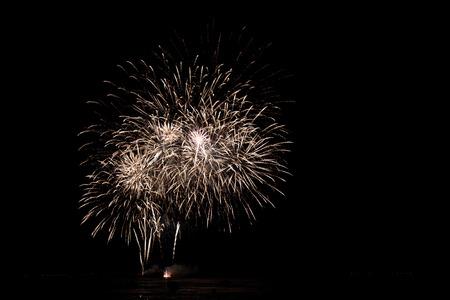 祝う: Fire work for celebrate season