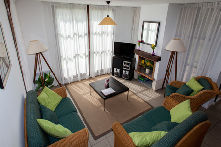 modern living: Modern, bright, clean, living room   in a  house