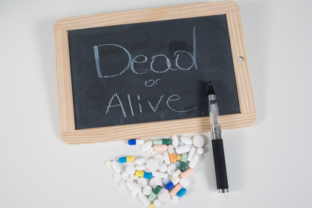 doses: Electronic cigarette, pills is not good for your health