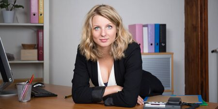 20 to 25 years old: business woman Stock Photo