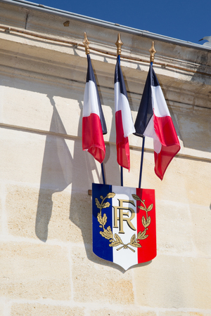 govern: City hall of a nice town  in France