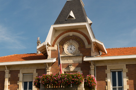 elected: City hall of a nice town in France