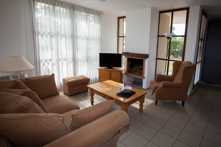 entresol: Modern, bright, clean, living room   in a  house