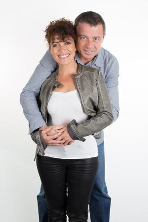 vejez feliz: Una feliz pareja encantadora, 40 a�os aislada
