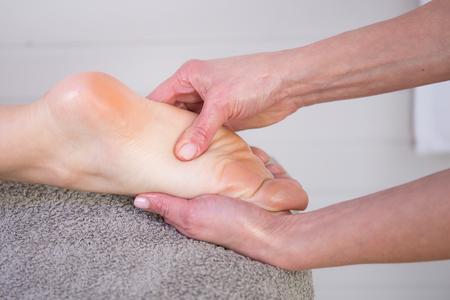 traditional healer: reflexology foot massage, spa foot treatment,