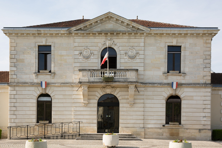 City hall of a nice town  in France