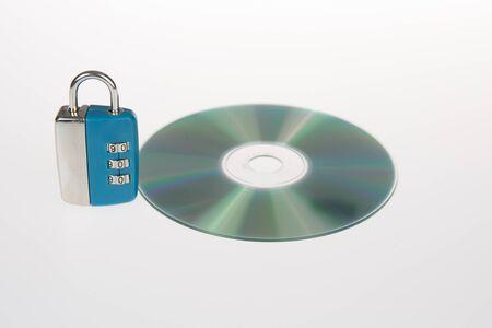 lock symbol: Lock, Security, CD. Symbol of security for your data