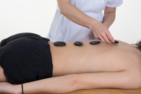 hot stone: Spa Hot Stone Massage