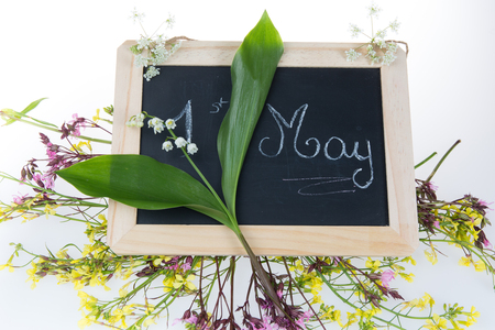 muguet: May Day, May 1 with the lily of the valley ( Muguet )