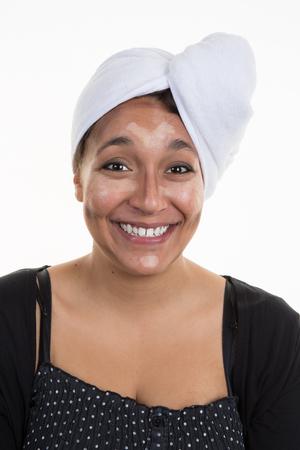cheekbones: Contouring.Make up woman face. Contour and highlight makeup.