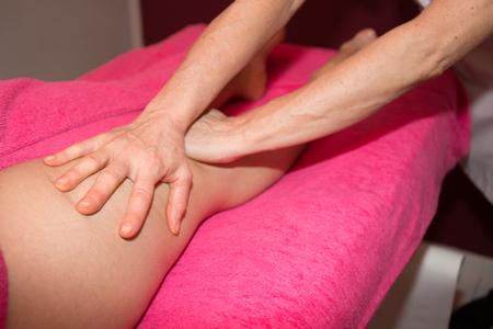 lymphatic drainage: lymphatic drainage massage