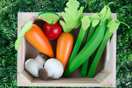 collection fruits and vegetables for children
