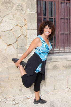 forties: forties sport woman outdoor