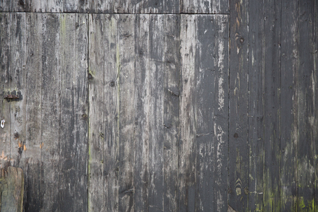 wood wall texture: Gray background, worn black color passed through time and intemperries