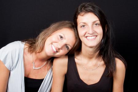 Lesbian Couple Together Indoors Concept Zdjęcie Seryjne