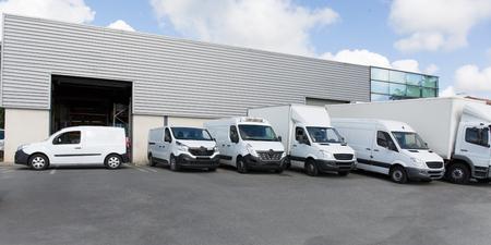 society parking for van transportation truck park