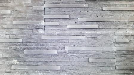 grey brick wall, gray brickwork background for design