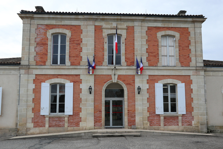 mairie means city hall in french Stockfoto