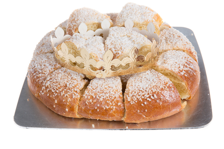 Traditional epiphany cake from south of France and spain name