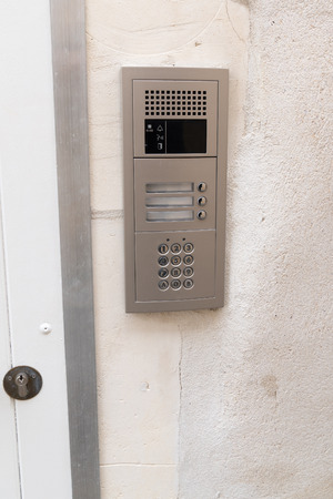 Secure password on keyboard for opening home house door