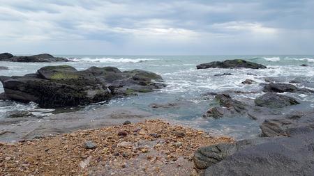 Atlantic littoral beach in Vendée in France