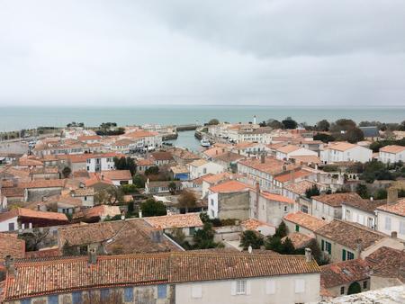 Saint Martin en Re - Ile de Re  Nouvelle Aquitaine  France - 11 10 2017 : Stok Fotoğraf