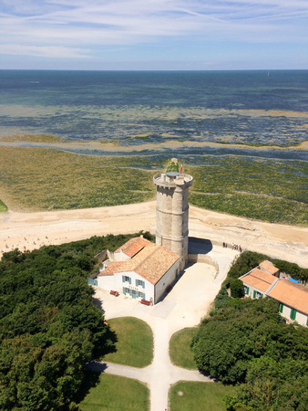 whale lighthouse of the whales tower in île de re france